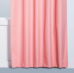 """1 Eclipse Blackout Rod Pocket Curtain Panel Coral Pink 84"""""""