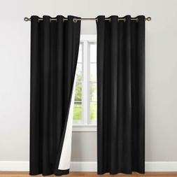 Blackout Curtains for Bedroom Window Curtain Thermal Insulat