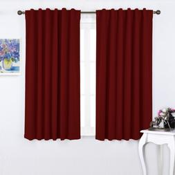 burgundy bedroom blackout draperies panels burgundy red
