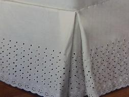 Curtains of Character By UNITED VIENNA Embroidery Eyelet Twi