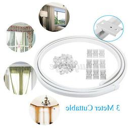 Aimyoo 3 Meters / 9.8 Feet Curved Curtain Track - Bendable S