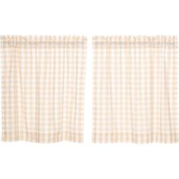 VHC Brands Farmhouse Classic Country Curtains Annie Buffalo