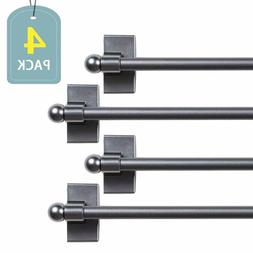 h versailtex adjustable magnetic curtain rods
