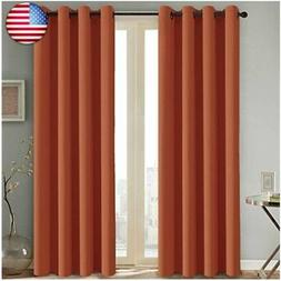 Blackout Room Darkening Curtains for Bedroom Thermal Insulat