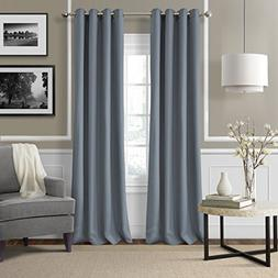 Elrene Home Fashions 026865642971 Grommet Top Solid Linen Lo