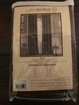 """Elrene Home Fashions Essex Solid Curtain Panel, 50"""" X 108"""""""