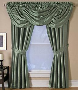 Elrene Home Fashions VERSAILLES One Rod Pocket Panel 52in W