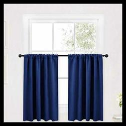 """Kitchen Curtains 36"""" Long For SMALL Window Treatment Valance"""