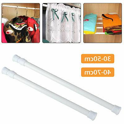 2 size teon curtain rod spring load