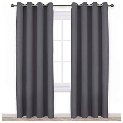 blackout curtains panels for bedroom noise reducing