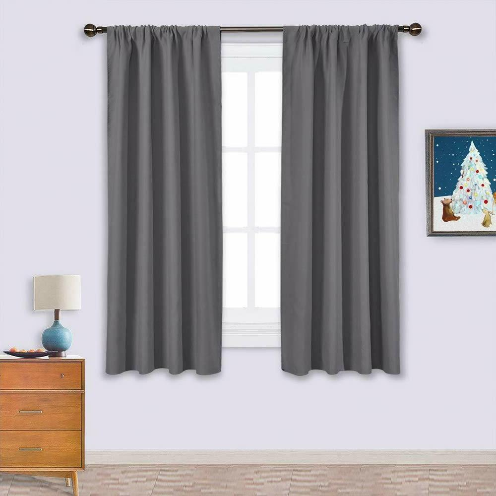 blackout curtains panels for window thermal insulated