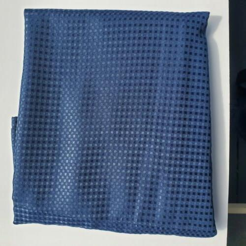 Blackout Window Curtain Panel 1 Blue 50 L 84 inch HOME