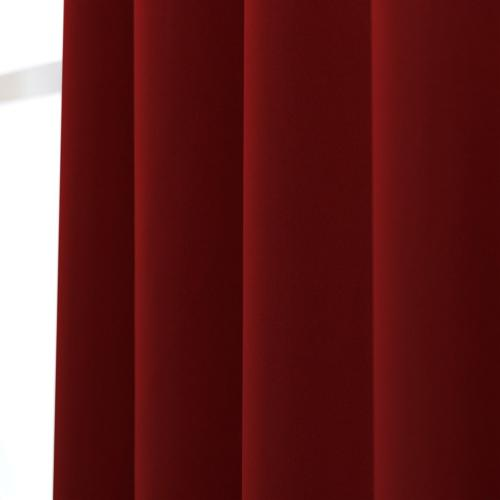 Draperies - Burgundy Red Color x 63