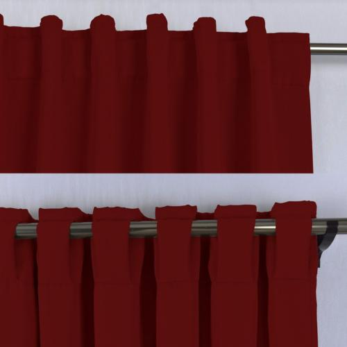 NICETOWN Blackout Draperies Panels - Burgundy Red 52 x 63