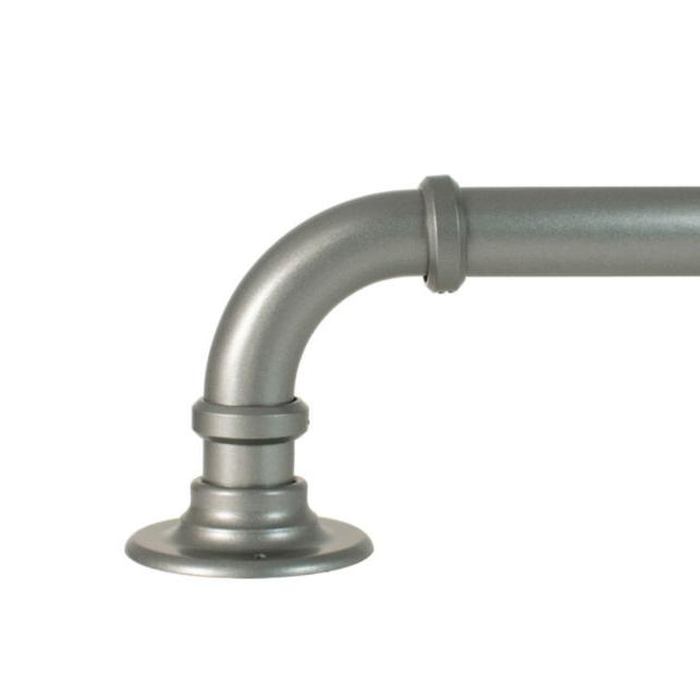 industrial pipe 1 curtain rod 42 120