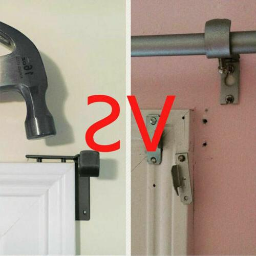 Holders Tap Right Frame Curtain Rod US