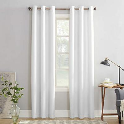 montego casual textured grommet curtain panel 48