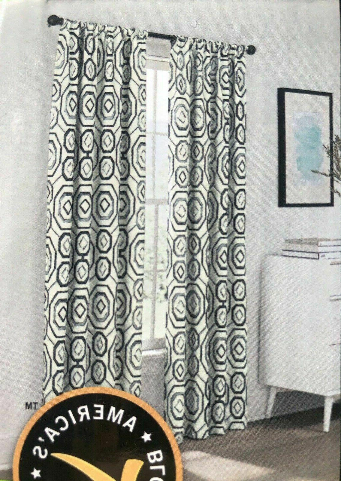 new 2 panels of eclipse blackout curtains