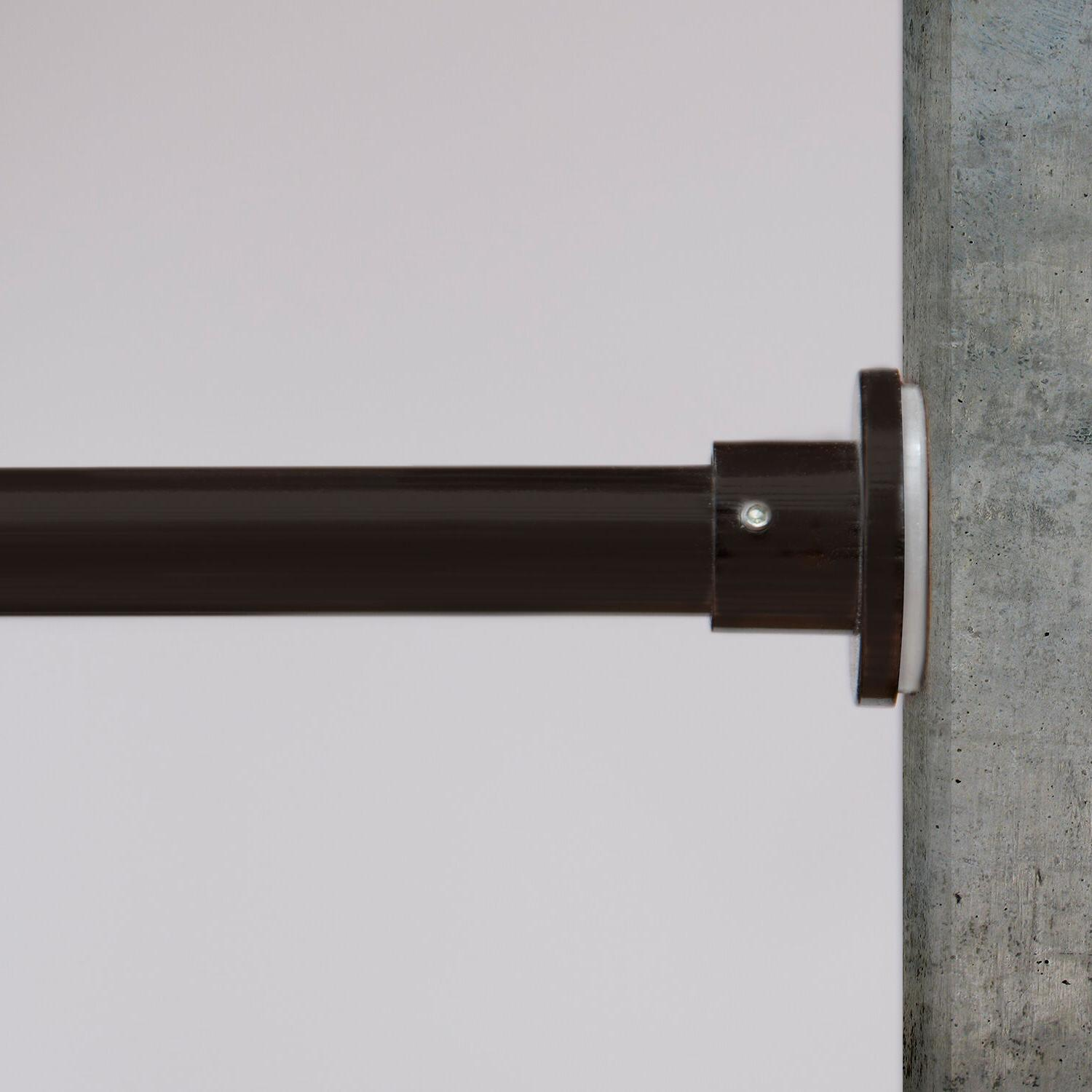 premium tension curtain rods sizes available from