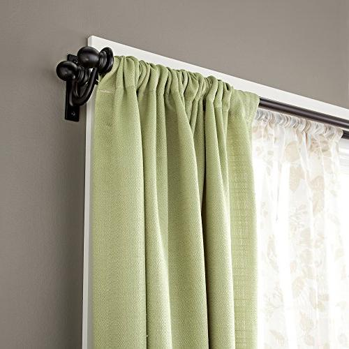 Kenney Double Window Curtain 48 to