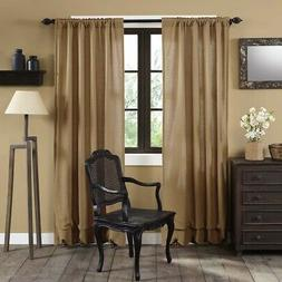 living bed room curtains drapes set panel