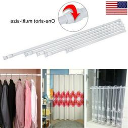 Extendable Telescopic Net Spring Loaded Voile Tension Curtai