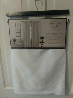 """NEW 2PC EXCLUSIVE HOME ROD POCKET CURTAIN PANELS 54"""" X 84"""" C"""