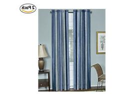 """Achim Home Furnishings Ombre Window Curtain Panel, 50 by 63"""""""