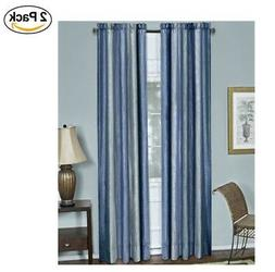 """Achim Home Furnishings Ombre Window Curtain Panel, 50 by 84"""""""