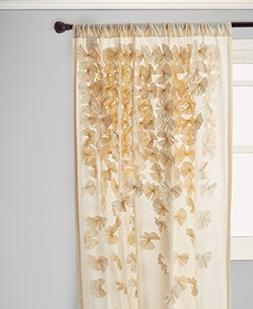 Riley Curtain Panel, Ivory
