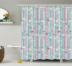 Ambesonne Shower Curtain Polyester Fabric 3 Sizes Available