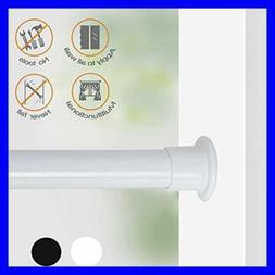 """Tension Shower Window Curtain Rod 42 81"""" Never Collapse No D"""