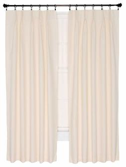 Ellis Curtain Crosby Thermal Insulated 96 by 84 Inch Pinch P
