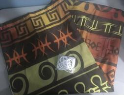 Ambesonne Tribal Decor Shower Curtain Ethnic African Motifs