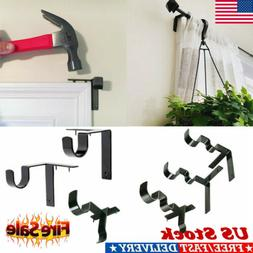 US FAST Kwik Hang Double Center Support Curtain Rod Bracket