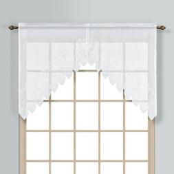 United Curtain Co. Valerie Polyester Window Swag